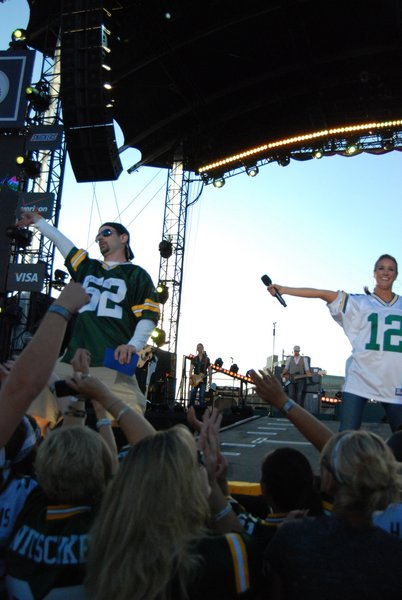 Average Joe NFL Kickoff 2011 - Packers vs. Saints