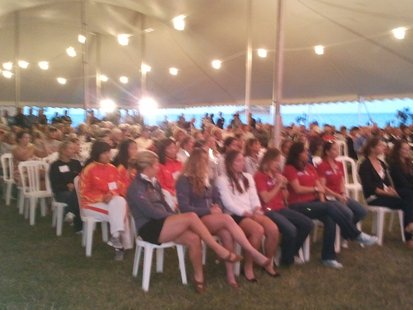 Hundreds Gather To Kickoff the 2011 Nation's Cup In Sheboygan Tuesday Night.