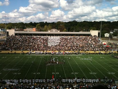 Waldo Stadium During WMU/CMU