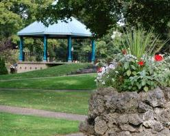 Holland's Centennial Park's Gazebo (photo courtesy City of Holland)