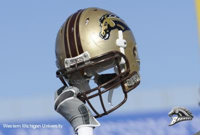 Western Michigan Helmet