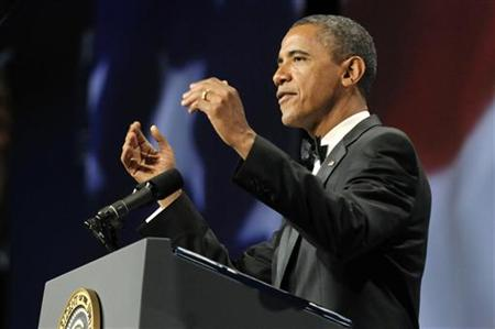 Obama makes remarks at the Congressional Hispanic Caucus Institute's awards gala in Washington