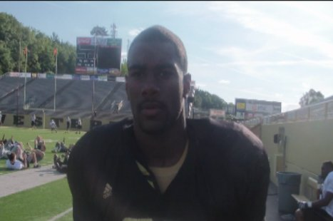 WMU Defensive End Freddie Bishop.