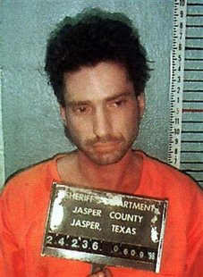Lawrence Russell Brewer, of Sulpher Springs, Texas,shown in a picture released by the authorities Ju..