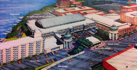 Expansion plans of KI Convention Center