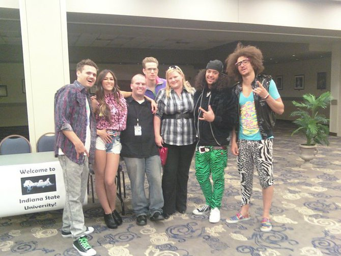 Jay and Storm with LMFAO