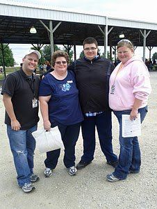 Jay and Storm with some loyal listeners at Walk Now For Autism Speaks