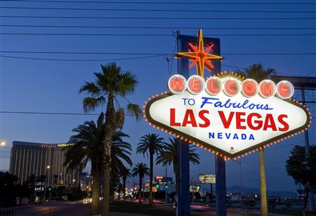 "The ""Welcome to Fabulous Las Vegas"" sign is seen in Las Vegas, Nevada in this file photo taken September 10, 2011."