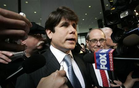 Blagojevich and Sorosky leave federal court in Chicago