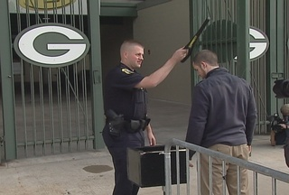 Football fans will notice security changes this Sunday at Lambeau Field. Handheld wands will be at every gate. (courtesy of FOX 11).