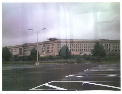 "A ""surveillance photo"" that the FBI says was taken of the Pentagon by defendant Rezwan Ferdaus is seen in a handout photo released by the U."
