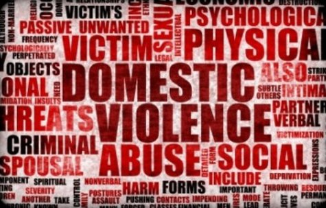 Domestic violence graphic
