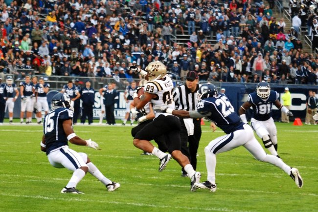 Shots from Western Michigan's 38-31 victory over UConn - Oct 1, 2011.  Photos by Sean Patrick Duross.