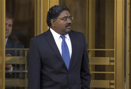 Galleon hedge fund founder Raj Rajaratnam leaves Manhattan Federal Court in New York