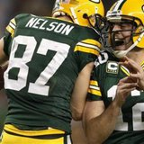 Jordy Nelson and Aaron Rodgers of the Green Bay Packers (Reuters)