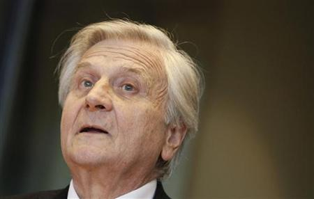 ECB President Trichet takes part in his last monetary dialogue with ECON of the European Parliament in Brussels