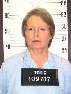 Gaile Owens is seen in an undated prison photo