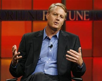 John Donahoe, president and CEO of eBay speaks at the Fortune Tech Brainstorm 2009 in Pasadena, California