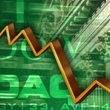 Stock market graphic