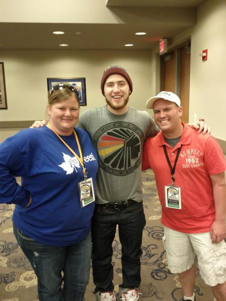 Jay and Storm met Mike Posner at the ISU Hulman Center!