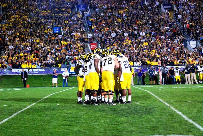 Shots form Michigans 42-24 win at Northwestern October 8, 2011.  Photos by Sean Patrick Duross.