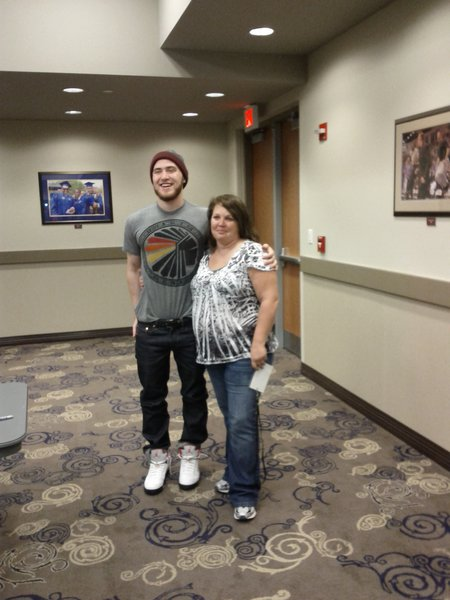 Mike Posner With Rhonda