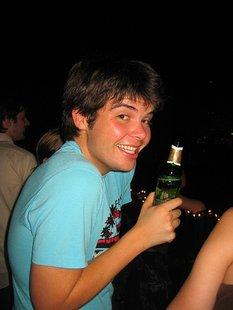 Underage drinker