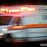 Ambulance rushes to an emergency copyright Shutterstock, Inc.