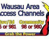 The logo for Wausau's Public Access stations