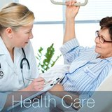 Health care graphic copyright Midwest Communications, Inc.