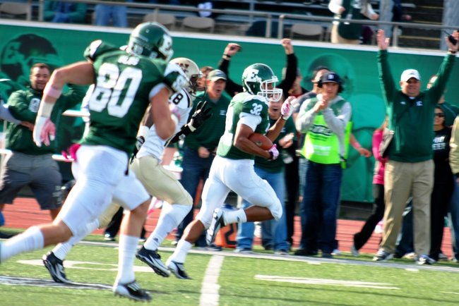 Shots from the Western Michigan's 14-10 loss at Eastern Michigan - 10/22/11.  Photos by Sean Patrick Duross.