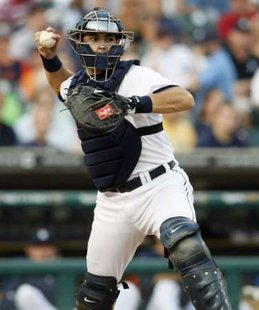 Detroit Tigers catcher Alex Avila.  REUTERS