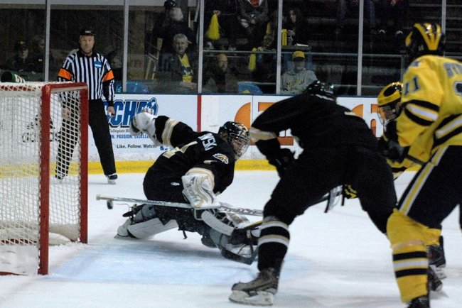 Shots from Western Michigan's 5-2 loss at Michigan - Nov 5, 2011. Photos by Sean Patrick Duross.
