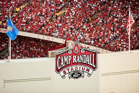 Camp Randall Stadium in Madison, Wisconsin (photo credit: University of Wisconsin)