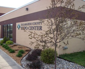 A photo of the Kalamazoo County Expo Center.  Photo courtesy of http://www.kalcounty.com/parks/expo/index.htm