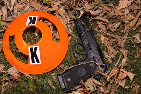 .40 caliber Beretta handgun, recovered at the scene from David Spencer.