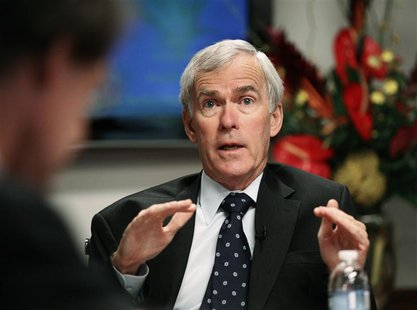 U.S. Senator Jeff Bingaman (D-NM), Senate Energy Committee Chairman, speaks during the Reuters Washington Summit