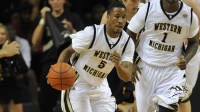 WMU Point Guard Mike Douglas struggled against Temple, as the Broncos lost 69-55