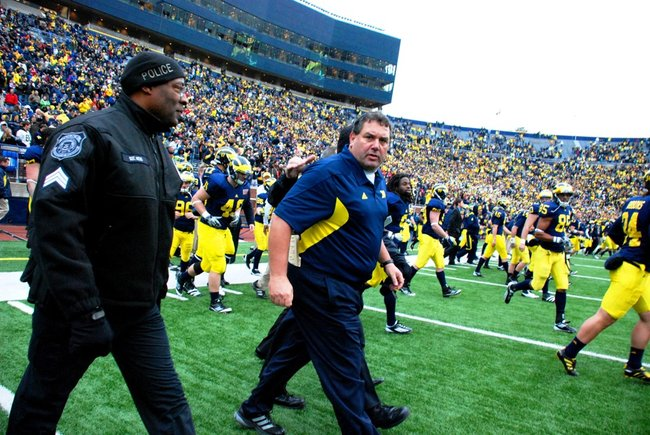 Shots from Michigan's 45-17 win over Nebraska - 11/19/11. Photos by Sean Patrick Duross.