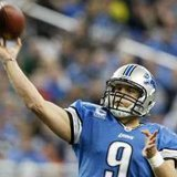 Detroit Lions quarterback Matthew Stafford. REUTERS/Rebecca Cook