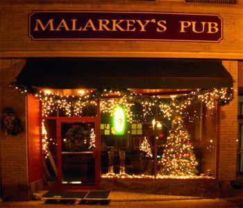 The storefront of Malarkey's Pub in Wausau