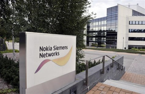 File picture shows telecommunications services company Nokia Siemens Networks headquarters in Espoo