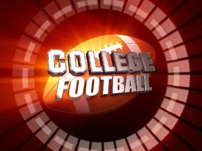 College football graphic