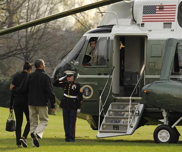 President Obama and first lady Michelle depart White House for basketball game in Towson, Maryland