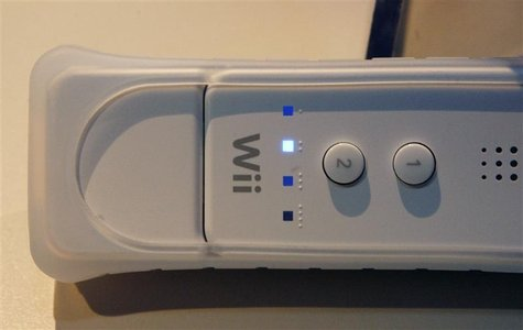 The new Wii MotionPlus accessory at the E3 Media & Business Summit in Los Angeles