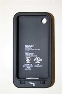A recalled Rocketfish iPhone batter case is seen in an undated handout photo