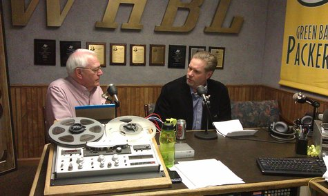 Mayor Bob Ryan Talks With Mike Kinzel During Sheboygan's Morning News