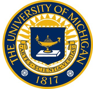 The University of Michigan logo is shown in a stock image.