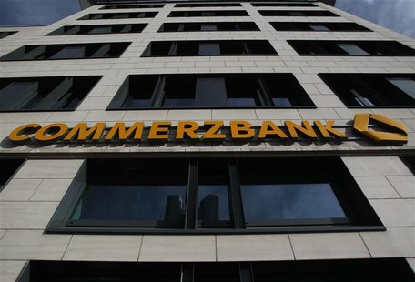 German Commerzbank headquarters are pictured in Frankfurt