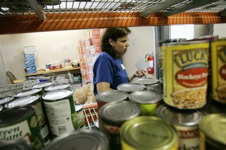 To match feature USA-HUNGER/FOODBANKS